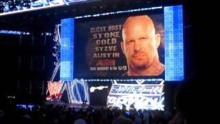 WWE Smackdown Live In Seattle - RAW Promos [3-9-2010]