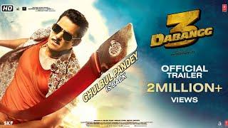 Dabangg 3: ( Trailer) Chulbul Pandey is Back | Salman Khan | Sonakshi Sinha | Prabhu Deva | 20th Dec