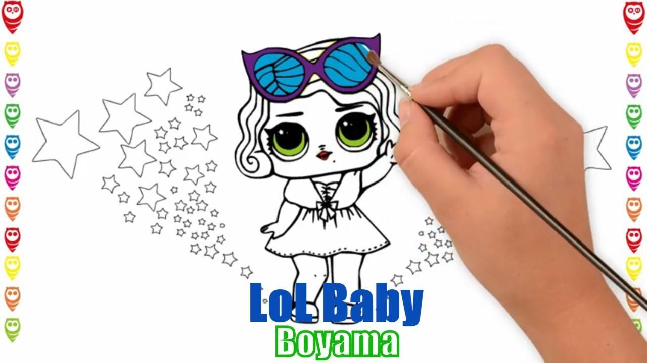 Lol Baby 1 Funny Lol Bebek Eglenceli Boyama Ve Cizim Sayfasi