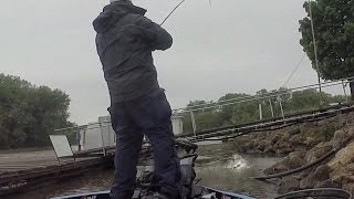 Big Bass and Bad Weather for $125,000 - Mississippi River FLW Tour