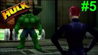 The Incredible Hulk:Ultimate Destruction PS2 Gameplay #5 [Hulk vs Mercy]