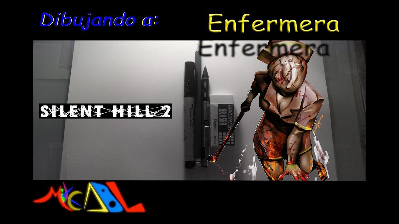Dibujando a Enfermera Silent Hill  YouTube