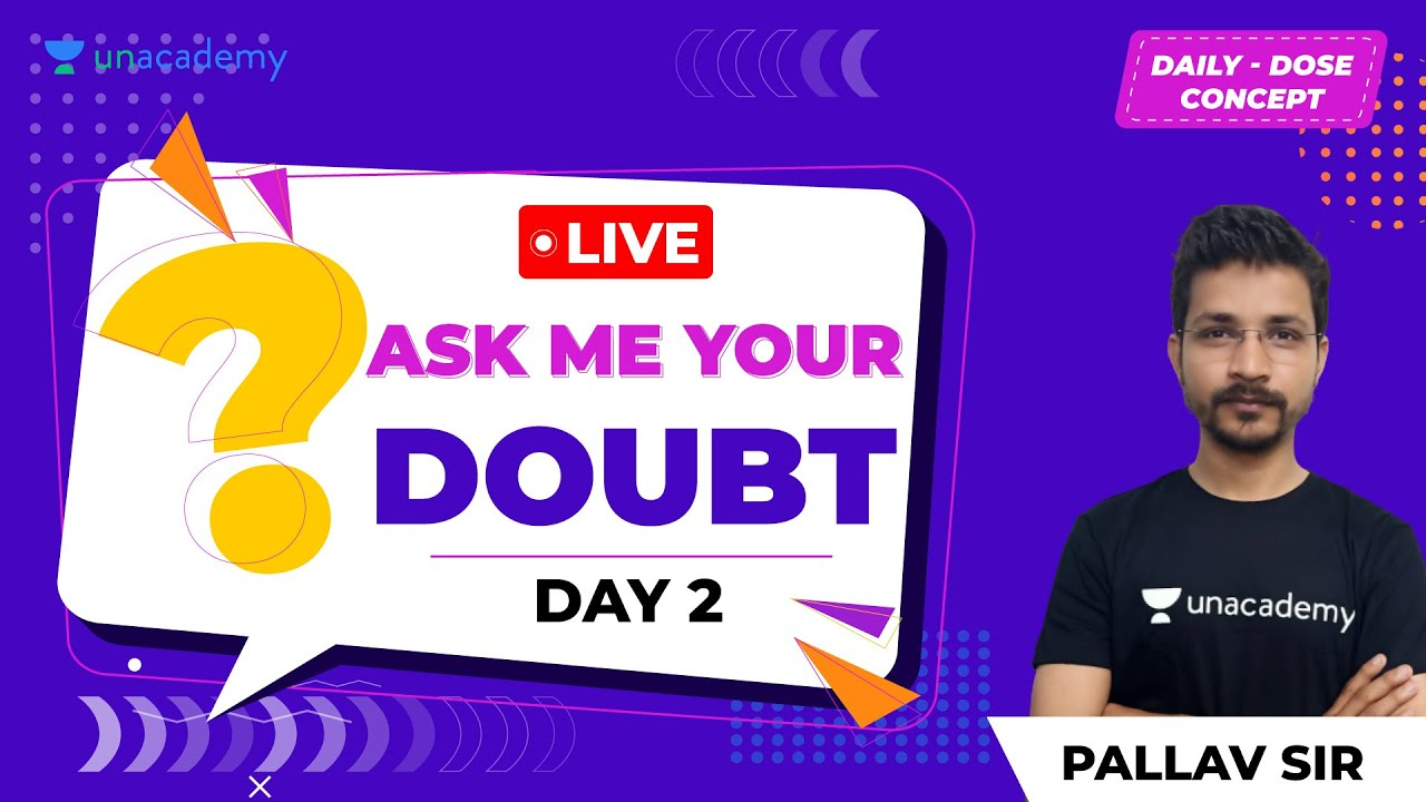 Engineering Maths Doubt Clearing Session by Pallav sir | Day 2 |GATE/ESE Exam