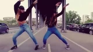 بنات روعة مع رقص حلو على أغنية اجنبية حماس