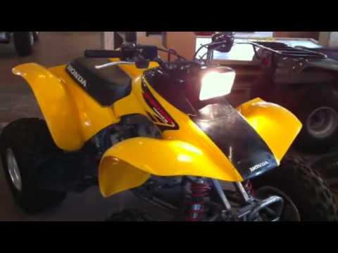 2002 Honda fourtrax 300ex - YouTube