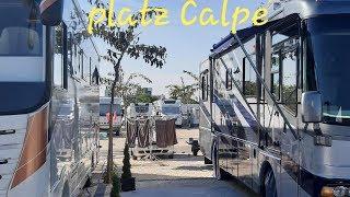 Wohnmobilstellplatz Sol☀️ de Calpe Boreal-CALPE Spanien