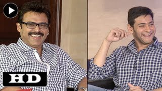 SVSC Team Funny Interview With Suma - Part 1- Mahesh Babu, Venkatesh, Dil Raju, Srikanth Addala