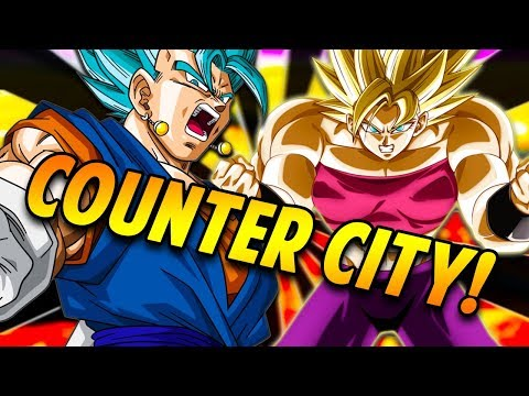 LITERALLY THE MOST FUN HERO TEAM EVER! Full Counter Team! Dragon Ball Z Dokkan Battle!