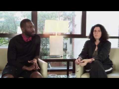 """Behind the Scenes of """"Head of Passes"""": playwright Tarell Alvin McCraney and director Tina Landau"""