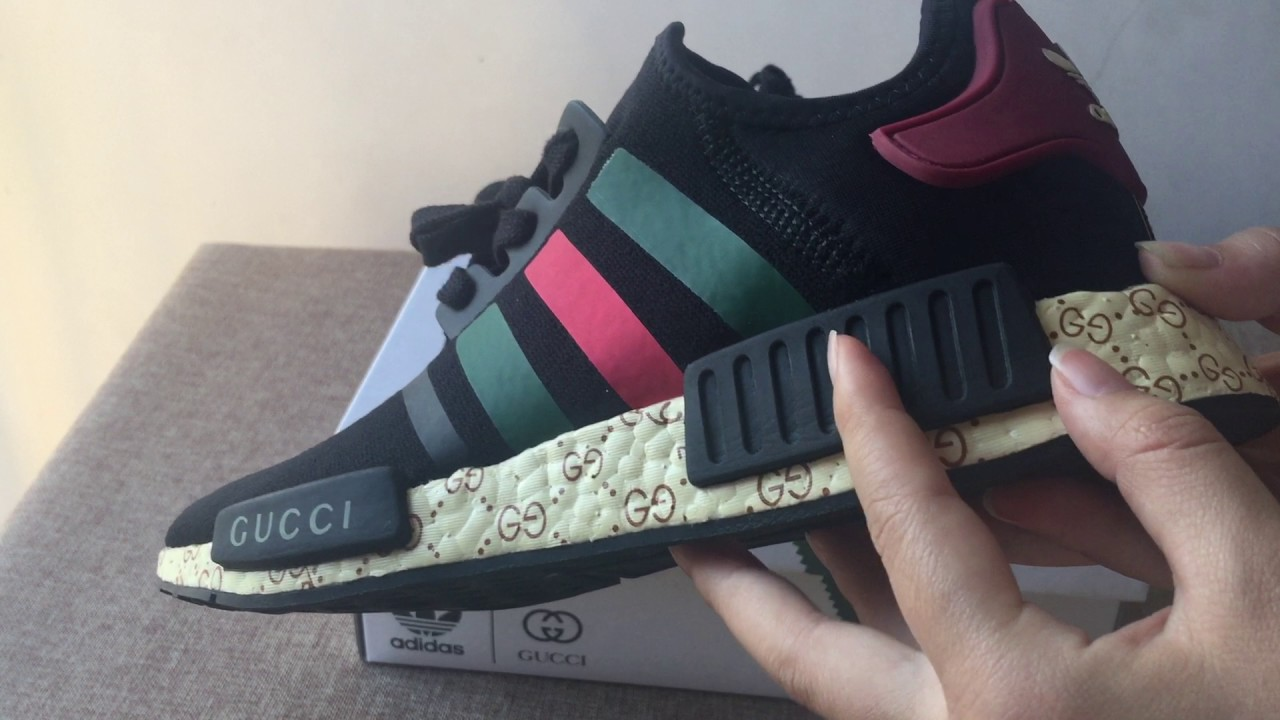 5ad6a1b3eaa ADIDAS NMD X GUCCI CORRECT VERSION FROM WWW.PERFECYEEZY.COM - YouTube