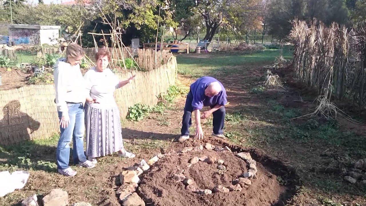 11 nov 2015 d marrage de la spirale aromatique au jardin for Au jardin des sans pourquoi translation