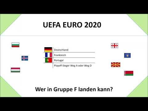 EM 2020: Gruppe F: Wer noch in der Gruppe mit Deutschland kommen kann (UEFA EURO 2020)