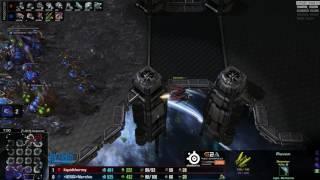 ZvT Nerchio vs uThemal - Mapa 2 - Starcraft 2 HD Polski komentarz