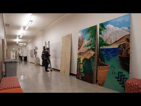 UW College of Education Indigenous Mural Project Installation