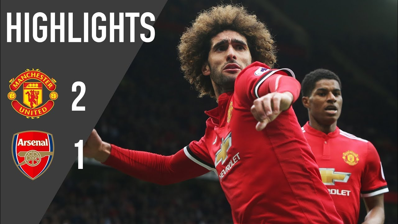 Manchester United 2 1 Arsenal Highlights Premier League Youtube