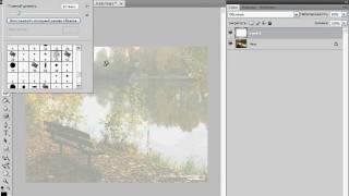 Превращение фотографии в эскиз в Photoshop (34/40)