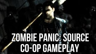 Zombie Panic Source Co Op Gameplay | Lolman and FreePCGamers Guests