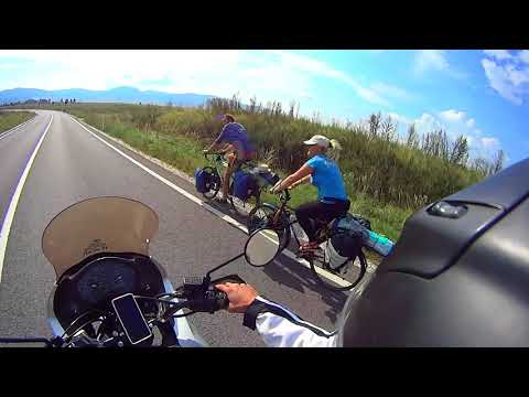 Motorbike Trip from Ukraine to Romania 2017. Siret to Brasov and Dracula Castle. Part1.
