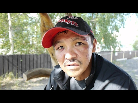 Cassien is homeless in Yellowknife. Aboriginal homelessness in Canada is a crisis.