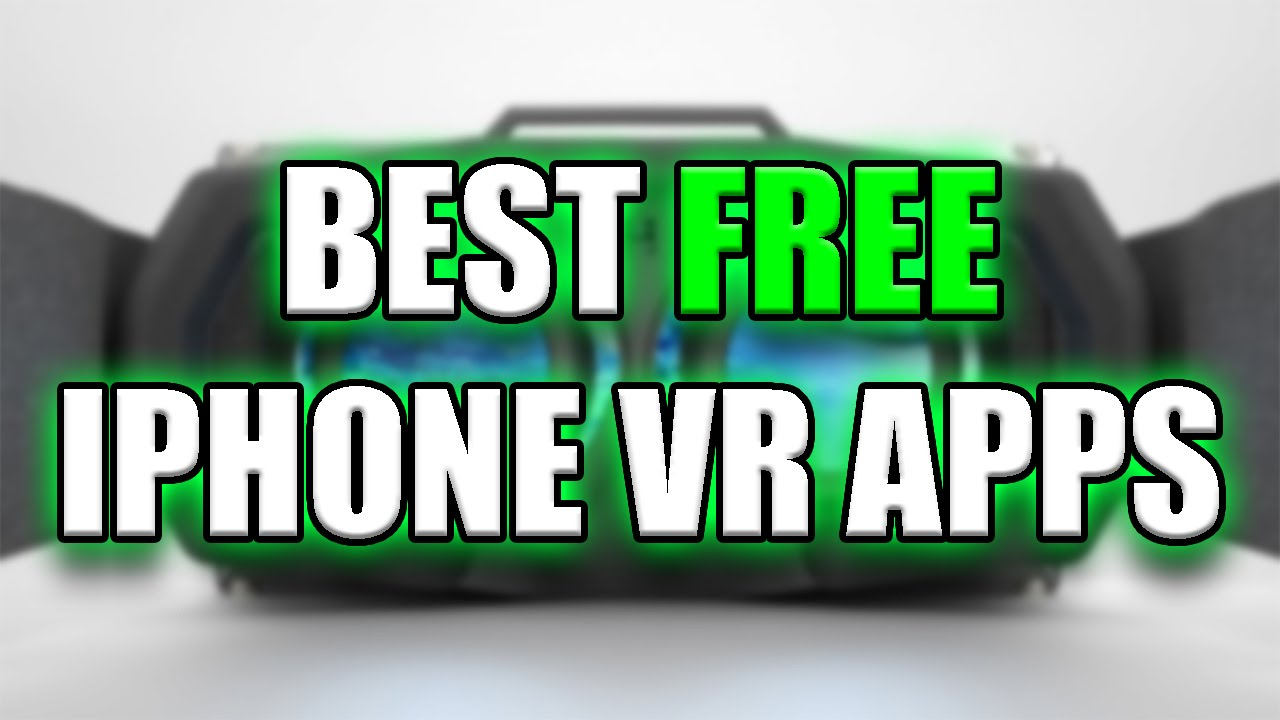 best free iphone ipod virtual reality apps youtube. Black Bedroom Furniture Sets. Home Design Ideas