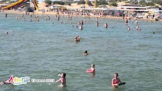 Витязево пляж 13 июня 2015(, 2015-06-18T17:48:04.000Z)