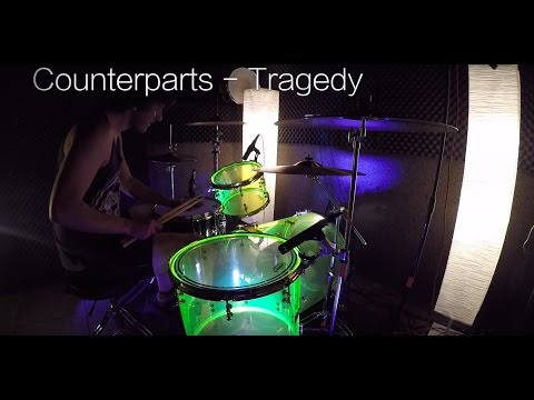 Kevo - Counterparts - Tragedy (Drum Cover) - SJC Drums