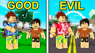 Choose GOOD vs EVIL in Roblox Brookhaven..