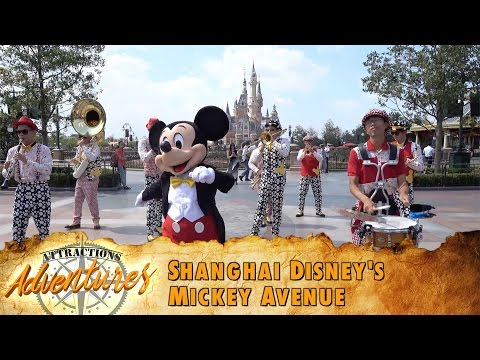 Attractions Adventures - 'Shanghai Disney's Mickey Avenue' - Sept. 2, 2016