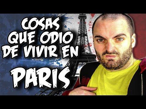 COSAS que ODIO de VIVIR en PARIS