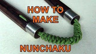 [HOW TO MAKE NUNCHAKU] Hướng dẫn thắt dây côn nhị khúc siêu đẹp. #Kanshop. #Nunchaku shop