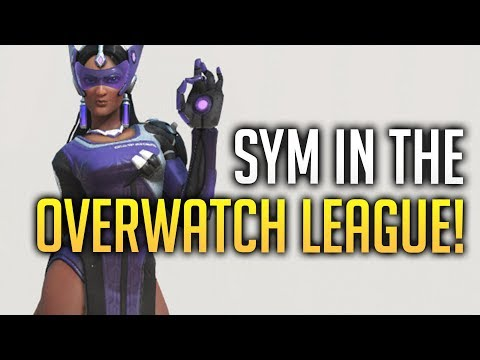 Symmetra Appears In The Overwatch League! - Overwatch thumbnail