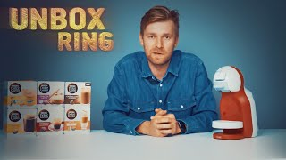 Kapsulinis kavos aparatas | DELONGHI DOLCE GUSTO | Unbox Ring || Laisvės TV X