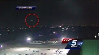 UFO fliegt durch Live Übertragung - Channel 5 blendet 'zu spät' weg 👽