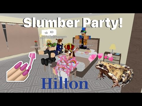 Roblox: Hilton Hotels | Slumber Party!!