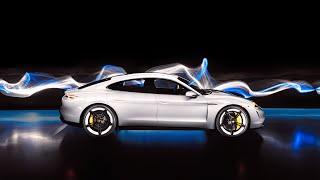 The Art of Light: Light Painting the Porsche Taycan