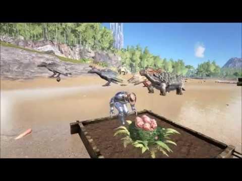 Ark survival evolved : Harvesting Plant X Three seeds.
