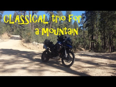 Mount Union and the Music of Three Cylinders - Triumph Tiger 800 Off Road