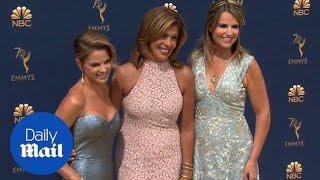 Savannah Guthrie, Hoda Kotb and Natalie Morales stun at Emmys