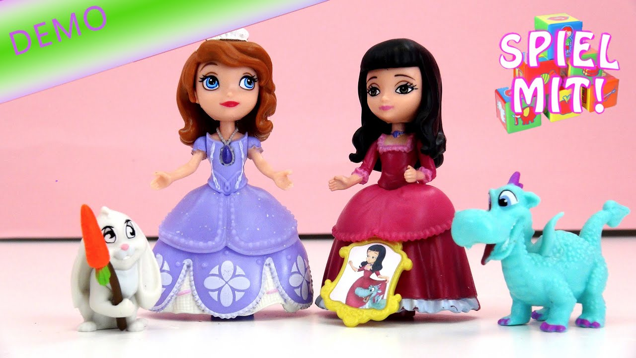 sofia die erste mit prinzessin vivian unboxing demo disney sofia the first toy doll youtube. Black Bedroom Furniture Sets. Home Design Ideas