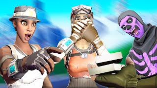 Recon Expert Gets Bullied By Toxic Default Clan On Fortnite