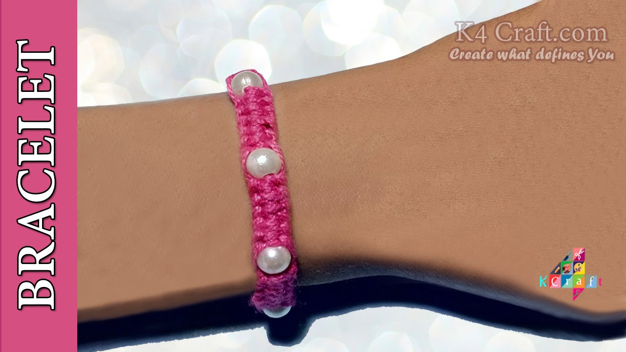 Crafts from thread. How to make bracelets, balls, dolls from threads do it yourself 30