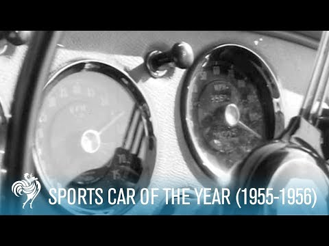 The Sports Car Of The Year (1955-1956) | British Pathé