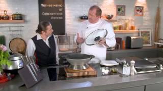 Рецепт капусты гриль с яйцом-пашот в мультишефе BORK U800 от Константина Ивлева