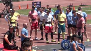 CrossFit Games 2014 MD 45-49 Day1 Event 1-2