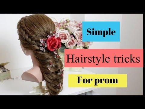 Jasmine style prom hairstyle tutorial 2019