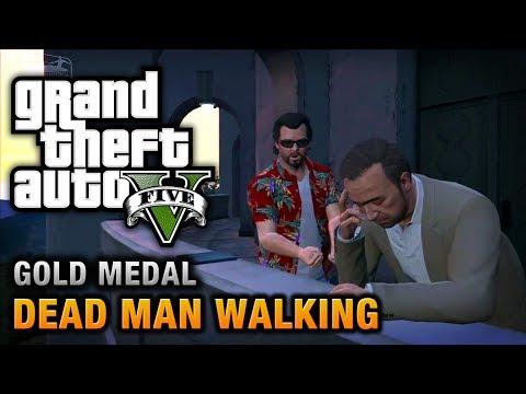 GTA 5 - Mission #23 - Dead Man Walking [100% Gold Medal Walkthrough]