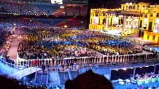 Opkomst van 650 koperblazers bij Andre Rieu in Amsterdam Arena 13 juni 2011