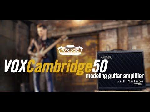 Introducing the VOX Cambridge50