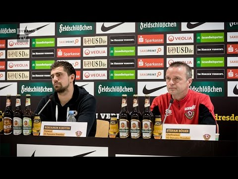 18. Spieltag | SGD - BVB II | Pressekonferenz vor dem Spiel