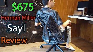 Herman Miller Sayl Review   A Good $675 Chair